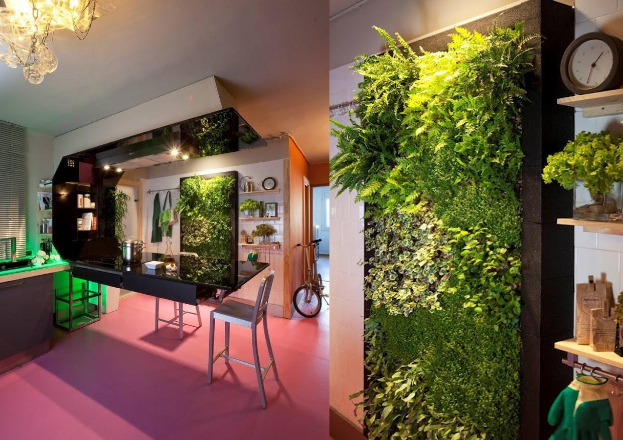 Jardines verticales para interiores macrobonsai olivos for Elaboracion de jardines verticales